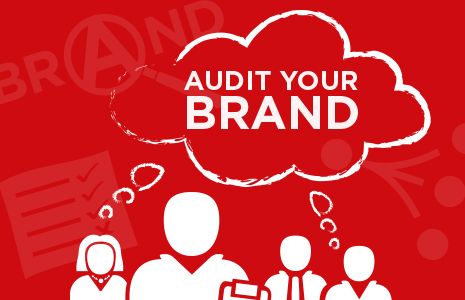 Audit your Brand graphic