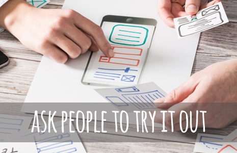 Using qualitative insights to help develop and test your idea