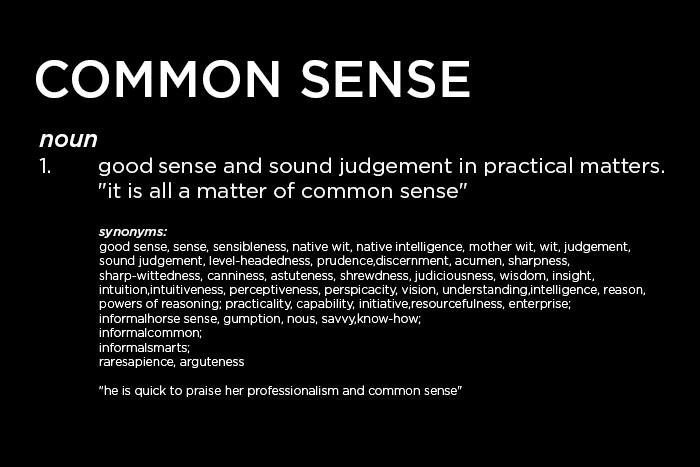 What do we mean by common sense branding - What is the meaning of commode ...
