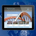 Parkmans Property Management website design