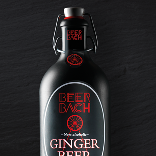 Beer Bach ginger beer packaging design